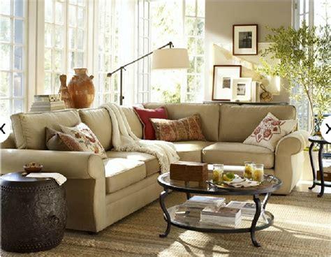 living room pottery barn ideas