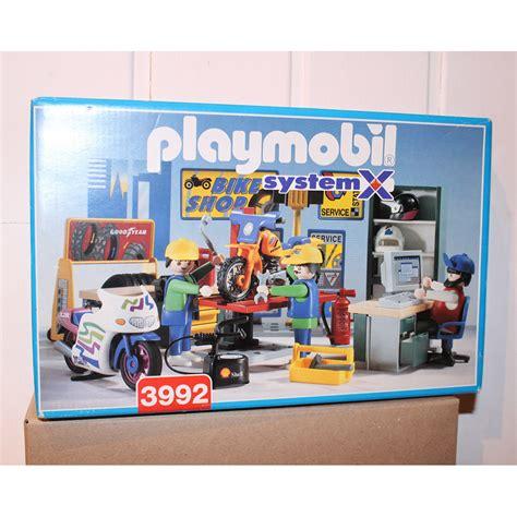 Playmobil 3992 Atelier Garage Mecanique Moto Complet