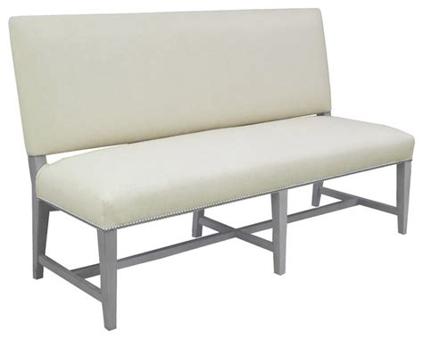 soho banquette bench modern dining benches by montage home