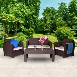 keter limousine rattan style 4 seat garden furniture lounge set promotions gt garden furniture