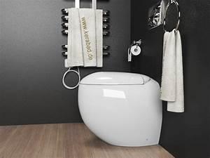 Stand Wc Eckig : stand wc toilette inkl soft close wc sitz kb01b ebay ~ Markanthonyermac.com Haus und Dekorationen
