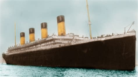 rms olympic sinking did the rms titanic sink historic