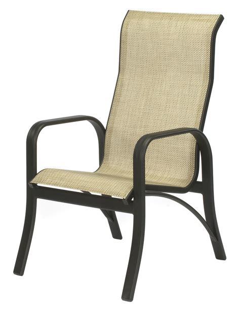 chairs terrific sling back patio chairs sling back swivel