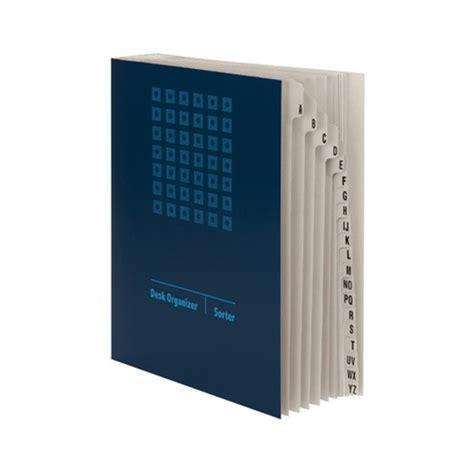 smead 89282 blue desk file sorter alphabetic 20 dividers