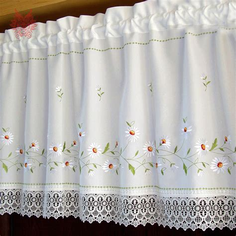 get cheap lace curtains for kitchen aliexpress alibaba