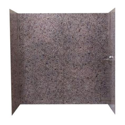 home depot bathtub surround home depot effects 60 in w tub surround in
