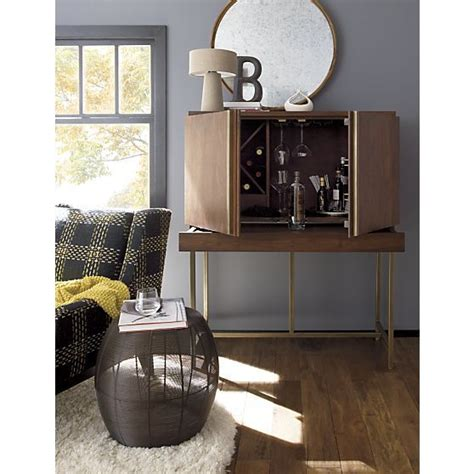 alfredo ivory wool rug bar cabinets crate and barrel and cabinets