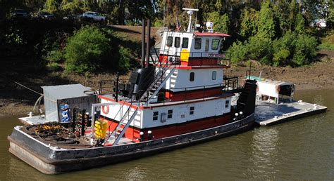Tugboat Deckhand Life by A Sweet River Rat And The Little Tug That Could