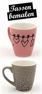 Tassen Zum Selbst Bemalen : tassen bemalen kreative ideen und vorlagen f r das tassen selbst gestalten basteln ~ Markanthonyermac.com Haus und Dekorationen