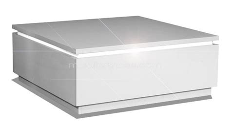 table basse carr 233 e avec luminaires inclus atract mobilier moss