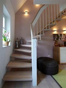 Treppenaufgang Außen Gestalten : wohnideen flur mit treppe ~ Markanthonyermac.com Haus und Dekorationen