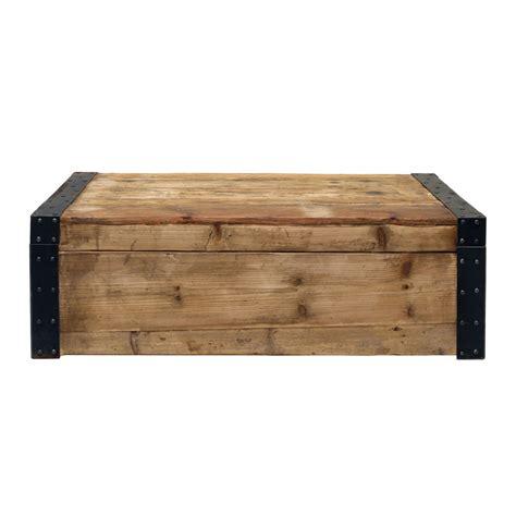 table basse coffre naturel interior s