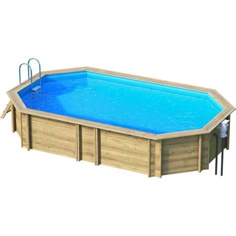 piscine hors sol bois weva octogonale proswell