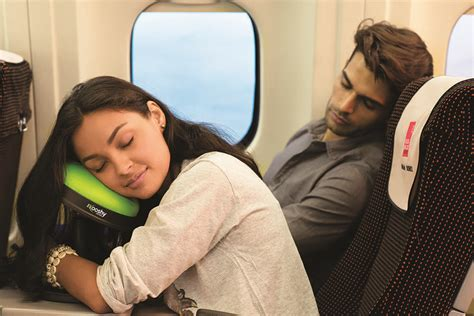 airplane travel pillow the kooshy travel pillow 187 gadget flow