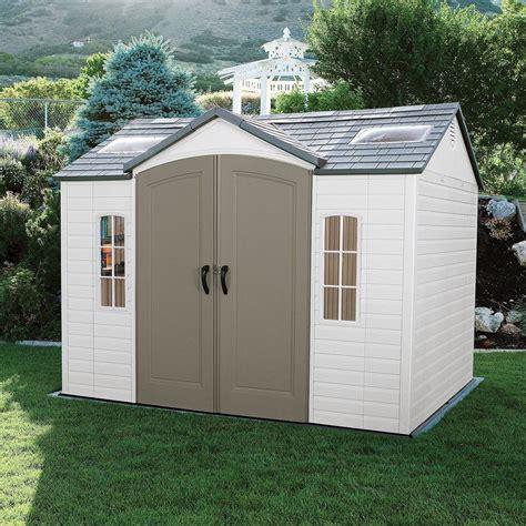 lifetime 10 215 8 outdoor storage shed garden backyard utility tool box patio new ebay
