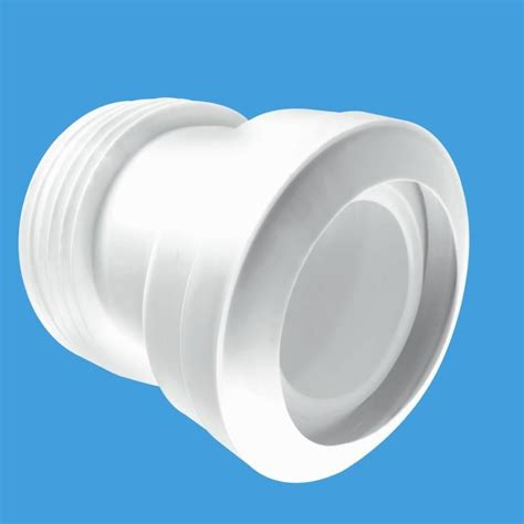 mcalpine 14 176 angled style toilet pan connector plumbers mate ltd