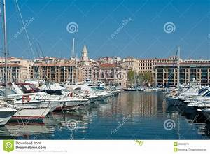 Marseille Old Port View Royalty Free Stock Image - Image ...