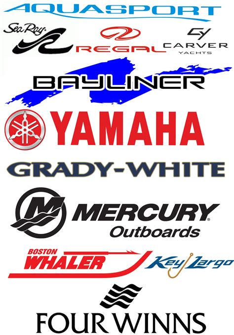 Good Boat Brands replacing your boat manufacturers brand logos and