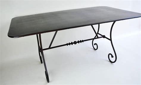 table de chevet fer forge noir maison design hosnya