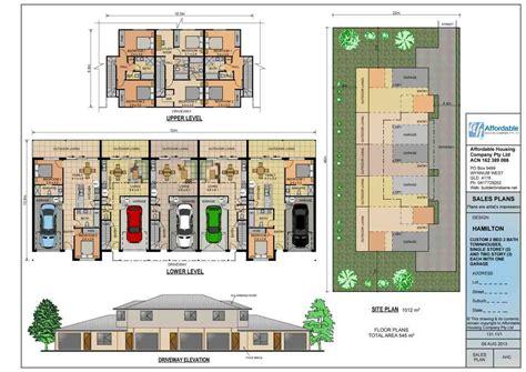 duplex and townhouse plans home builders brisbane