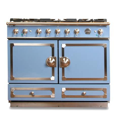 cornue fe cornuf 233 dual fuel range stove provence blue williams sonoma