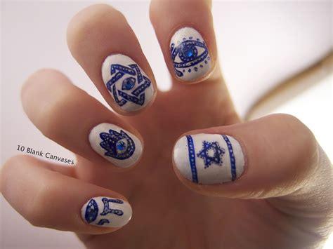 Israel Evil Eye Nails