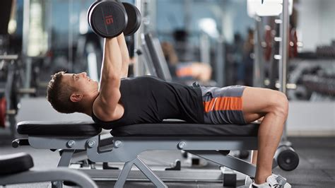 Dumbbell Benchpress Workout For Explosive Pressing Power