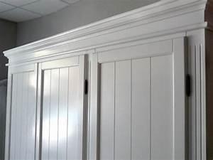 Weißer Kleiderschrank Landhausstil : 2056 kleiderschrank 3 t rig wei pinienholz landhausstil landhausm bel bett schrank ~ Markanthonyermac.com Haus und Dekorationen