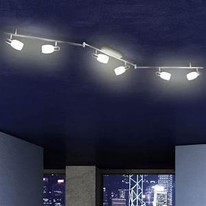 Deckenleuchten Spots Ideen : 30w led deckenbeleuchtung decken strahler deckenleuchte wohnzimmer spot schiene ebay ~ Markanthonyermac.com Haus und Dekorationen