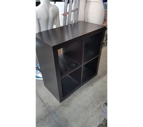 petit meuble ikea 4 cases en bois noir faillites info