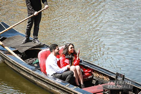 Romantic Boat Rides In Boston by Karmvir And Melinee S Spring Gondola Ride Proposal New
