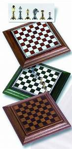 Travel Magnetic Brass Chessmen Set with Leatherette Chessboard