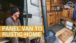 Beautiful Rustic Self Build Van Tour - YouTube