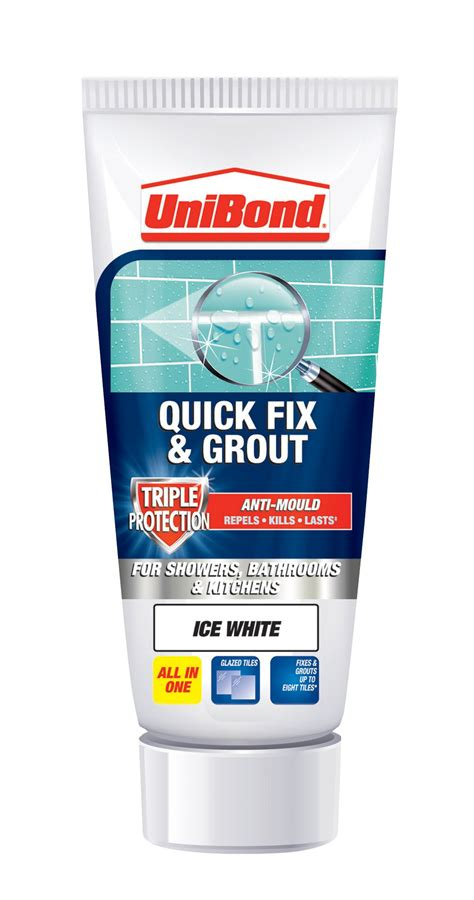 unibond ready to use wall tile adhesive grout white