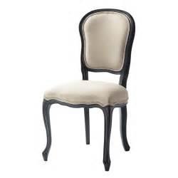 chaise en et bois 233 crue et versailles maisons du monde