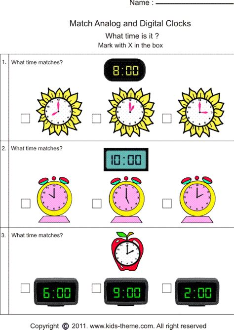 All Worksheets » Analogue And Digital Worksheets  Printable Worksheets Guide For Children And