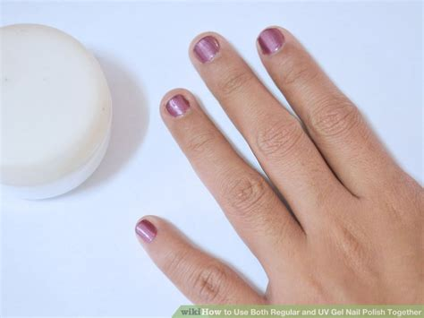 How To Use Both Regular And Uv Gel Nail Polish Together