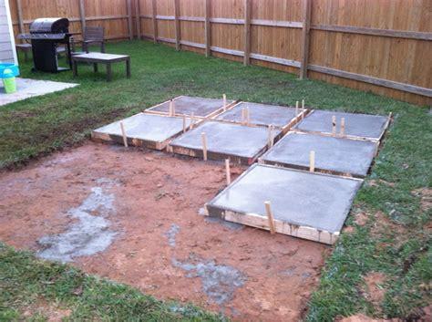 a roll acosta diy backyard patio part 2