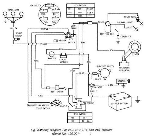 deere stx38 yellow deck wiring diagram php