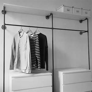 Offener Schrank Vorhang : die 25 besten ideen zu offener kleiderschrank auf pinterest offener schrank und kleiderschrank ~ Markanthonyermac.com Haus und Dekorationen