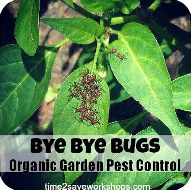 Bye Bye Bugs Organic Vegetable Garden Pest Control
