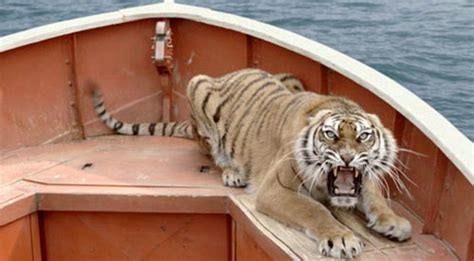 Movie Boy In Boat With Tiger by Life Of Pi Film Yann Martel Reveals How It Was Finally