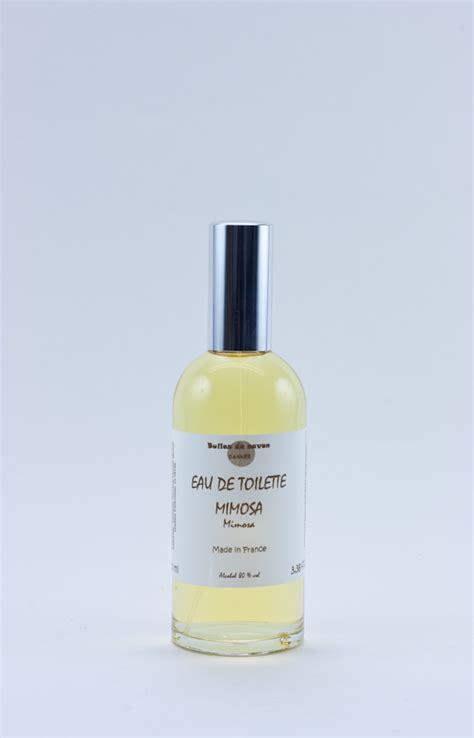 eau de toilette mimosa bulles de savon savonnerie artisanale cannes