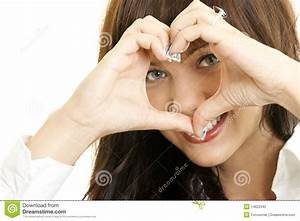 A Young Woman In Love Stock Photography - Image: 14822342