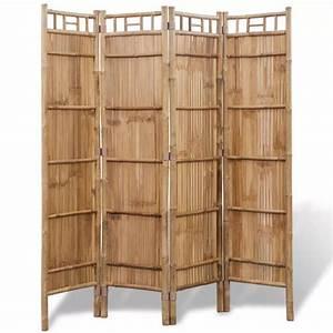 Paravent Günstig Kaufen : bambus raumteiler paravent 4 teilig g nstig kaufen ~ Whattoseeinmadrid.com Haus und Dekorationen