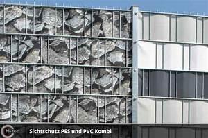 Sichtschutz Zum Einflechten : sichtschutzstreifen mit motiv aus polyester ~ Markanthonyermac.com Haus und Dekorationen