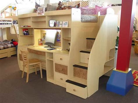 Best 25  Bed with desk underneath ideas on Pinterest   Bunk bed with desk, Bunk bed desk and