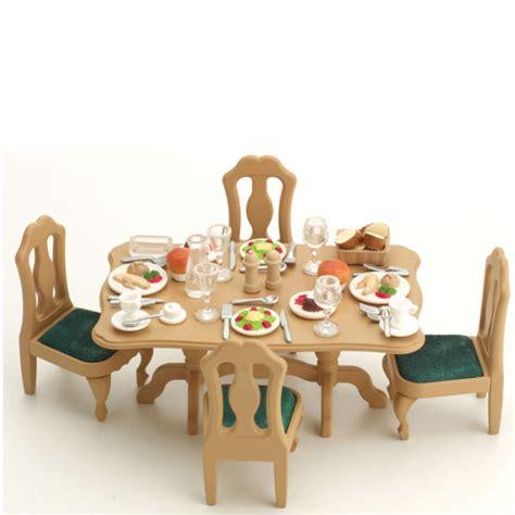 Sylvanian Families Dining Room Set Toys Thehutcom