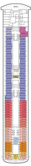 zaandam america line deck plans cruiseline