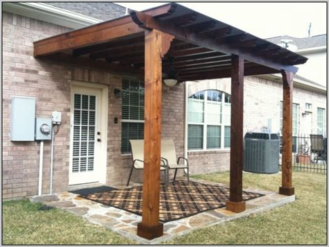 wood patio covers kits patios home design ideas